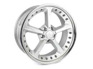 ES#3969301 - 361160700 - AC Schnitzer Type IV Racing Wheel - Silver *USED* - 20x9 Et42 5x120 - AC Schnitzer - BMW
