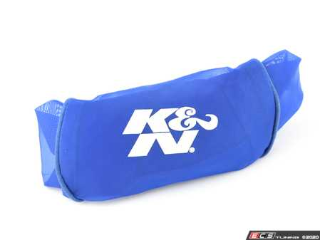 ES#2862797 - RX-4730DL - Air Filter Wrap - Blue - Hyrdro-lock and contaminant protection for round tapered air filters - K&N - Audi BMW Volkswagen Mercedes Benz MINI Porsche