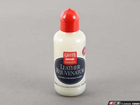 ES#3035242 - 11141 - Griot's Garage Leather Rejuvenator 8 oz - As the name implies this is a resuscitation type of product designed for the driest, most harshly worn, or utterly neglected leather. - Griot's - Audi BMW Volkswagen Mercedes Benz MINI Porsche
