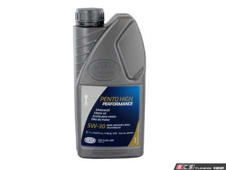 ES#4351742 - 8043107 - Pento High Performance 5W-30 - 1 Liter - One of the world's best all around synthetic engine oils - Pentosin - Audi BMW Volkswagen Mercedes Benz MINI
