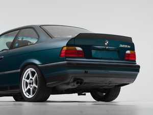 ES#4146921 - 006690LA01 - Turner Motorsport High Kick Trunk Spoiler - Matte Black - Add aggressive styling to your BMW at an affordable price! - Turner Motorsport - BMW