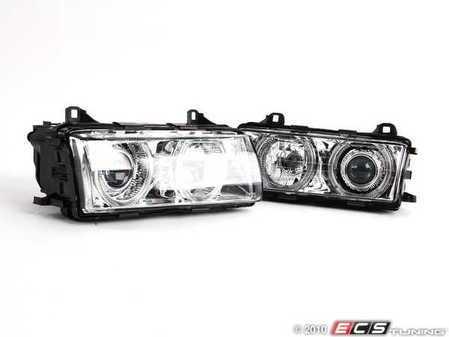 ES#248204 - FKFS015-2 - FK E36 Angel Eye Headlights With Indicators Chrome - FK -