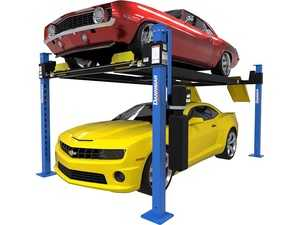 ES#4350829 - 5175319 - D4-9 Package 9K Capacity 4-Post / Includes Caster Kit, Drip Trays, Jack Platform and Aluminum Ramps - Dannmars D4-9 four-post lift delivers versatile productivity while allowing you to easily store project cars, classics, daily drivers, or even heavy pickup trucks. - Dannmar - Audi BMW Volkswagen Mercedes Benz MINI Porsche
