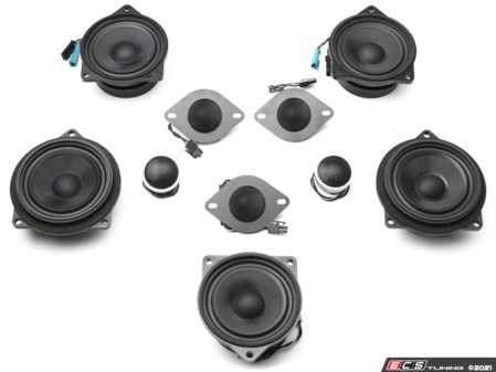 ES#4352406 - S1.F10.Hi-Fi - BavSound Speaker Upgrade - F06/F10/F12/F13 - BavSound speakers are meticulously tuned for your BMW, and provide exceptional clarity, detail, and richness. - BavSound - BMW