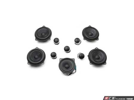 ES#4352414 - S1.F25F26.HIFI - BavSound Speaker Upgrade - F25/F26 - BavSound speakers are meticulously tuned for your BMW, and provide exceptional clarity, detail, and richness. - BavSound - BMW