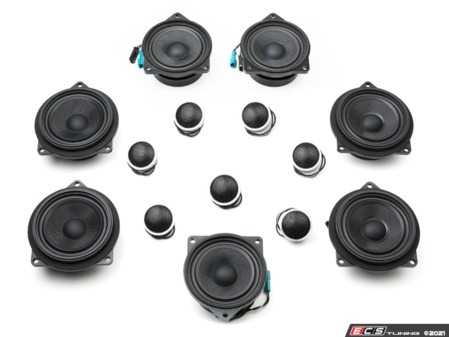 ES#4352415 - BSD.S1.F25.HK - BavSound Speaker Upgrade - F25/F26 - BavSound speakers are meticulously tuned for your BMW, and provide exceptional clarity, detail, and richness. - BavSound - BMW