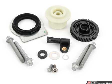 ES#4159785 - 27102413711KT - Transfer Case Repair Kit - Rebuild the stripped gears in your transfer case, kit includes new gears, resistor and mounting hardware - Assembled By ECS - BMW