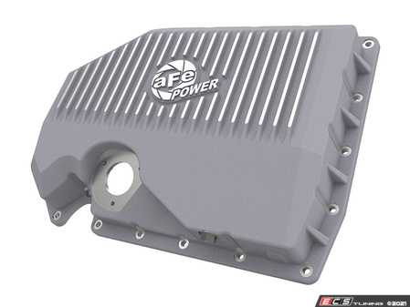 ES#4352711 - 46-71210A - Street Series Engine Oil Pan - Raw With Machined Fins - Constructed out of durable cast aluminum and adds approximately an additional quart of oil capacity - AFE - Audi Volkswagen