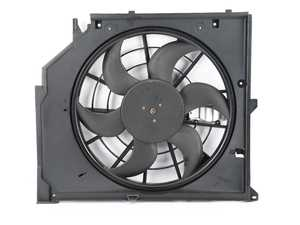 ES#2814088 - 17117561757 - Auxiliary Puller Fan Assembly - Cooling fan mounted behind the radiator - Hamburg Tech - BMW