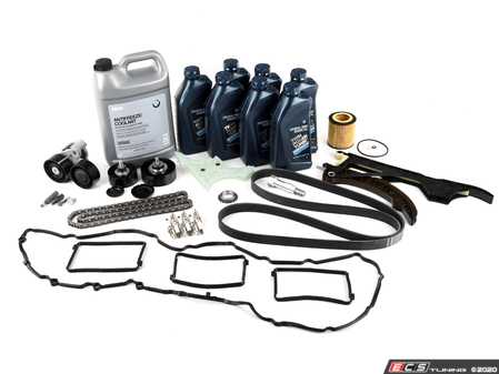 ES#3659758 - 113175840841KT - Timing Chain Kit  - Everything you need to do a complete timing chain service, featuring high quality aftermarket components. - Assembled By ECS - BMW
