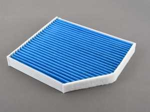 ES#3676782 - 8K0819439A - Charcoal Lined Cabin Filter / Fresh Air Filter - The activated charcoal filters odor from reaching the cabin - Hengst - Audi