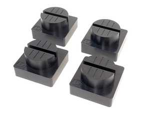 """ES#4355082 - 5300011 - Urethane Pinch-Weld Puck - 3"""" Diameter Set Of 4 - Round pinch-weld pucks are specifically designed to handle even more difficult-to-reach pinch-weld rails, while protecting your car. - QuickJack - Audi BMW Volkswagen Mercedes Benz MINI Porsche"""