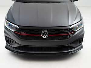 ES#4355232 - 007202la01-01KT -  MK7 Jetta GLI Front Lip Spoiler - Gloss Black - In-house engineered to upgrade your exterior styling - ECS - Volkswagen