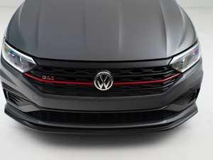 ES#4355236 - 007202LA01-02KT -  MK7 Jetta GLI Front Lip Spoiler - Textured Black - In-house engineered to upgrade your exterior styling - ECS - Volkswagen