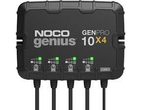 ES#4355221 - GENPRO10X4 - 4-Bank, 40-Amp On-Board Battery Charger (10-Amps Per Bank), Battery Maintainer, And Battery Desulfator With Temperature Compensation - A four-bank onboard battery charger rated at 40-amps (10-amps per bank) for 12-volt batteries, including marine, boat, starter, and deep-cycle batteries. - NOCO - Audi BMW Volkswagen Mercedes Benz MINI Porsche