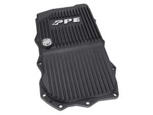 ES#4361547 - 228053420 -  Heavy Duty Aluminum Transmission Pan - ZF 8HP70 - Black Finish - The final transmission pan your BMW will ever need! - PPE - BMW