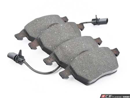 ES#4068784 - 4B0698151J - Front Brake Pad Set - Restore the stopping power of your vehicle - ATE - Audi Volkswagen