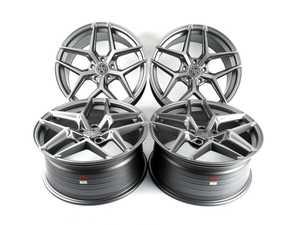 """ES#4350016 - 013-4KT1 - 19"""" Tekniform Style 013 - Staggered Set Of Four - 19x8.5"""" ET35 19x9.5"""" et43 5x120 72.56CB - Matte Gunmetal - ECS - BMW MINI"""