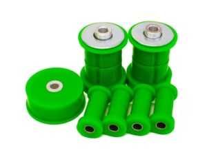 ES#4362415 - RBK-E3095A12mm - Rear Polyurethane Bushing Kit - E30 12MM Offset - 95A Street/Track - Green - Revshift - BMW