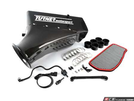 ES#4027512 - 003313TMS01KT3 - CSL Style Intake kit - Gloss - Includes everything needed to install this legendary intake on your car! - Turner Motorsport - BMW