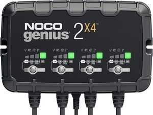 ES#4364629 - GENIUS2X4 - GENIUS2X4 6V/12V 4-Bank, 8-Amp (2-Amp Per Bank) Fully-Automatic Smart Charger - Introducing the all-new GENIUS2X4, making it one of our most powerful, highest-performing, energy-efficient, and compact charger yet. - NOCO - Audi BMW Volkswagen Mercedes Benz MINI Porsche