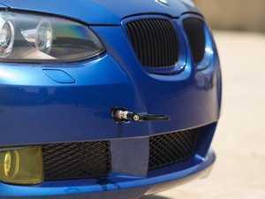 ES#2189827 - 1700505Z-B - Tow Hook Kit - Black Ring - Race inspired styling - ECS - BMW