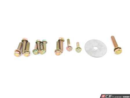 ES#4139133 - EBFI77K54622 - BFI V2 Stage 2 Mount Kit - Fully Assembled  - Billet engine and transmission mounts with 85A durometer dogbone insert - Black Forest Industries - Volkswagen