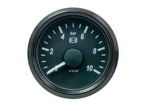 "ES#4338659 - A2C1800330030 - SingleViu 52mm 10bar Brake Pressure ""2"" Gauge. 0-5V Input. - Priced Each  - Analog dial to display critical information in a classic design - VDO - Audi BMW Volkswagen Mercedes Benz MINI Porsche"