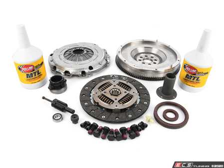 ES#4070501 - 52401225KT -  Complete Single Mass Flywheel Conversion Kit  - Includes a single mass conversion clutch kit, guide tube, seals and transmission service kit - Assembled By ECS - BMW
