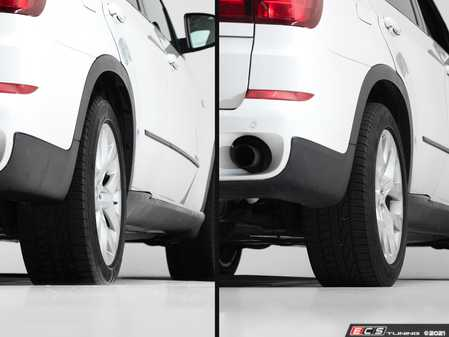 ES#4361942 - e70flushKT - E70 Flush Kit - Front And Rear - This flush kit will widen your track width and remove that unsightly tire edge gap while still allowing enough clearance for lowered applications - ECS - BMW