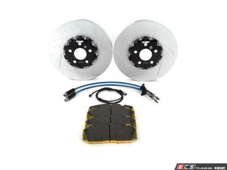 ES#4369357 - 005032LA17KT - Turner Motorsport Front Full-Floating Slotted TrackSport Performance Brake Kit - G14/G15 - Upgrade your BMW's brakes for the ultimate track performance! - Turner Motorsport - BMW