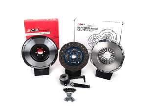 ES#4368635 - 005816ECS01KT -  ECS Tuning Stage 2 Performance Clutch Kit with Lightweight Forged Steel Flywheel (18.85lbs) - The best value for Heavy Duty OE Replacement and Stage 2 Power Levels! Capable of holding 400 Ft/Lbs of crank torque - ECS - Audi Volkswagen