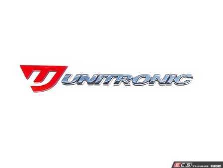 ES#4362347 - UH016-GR4 - Unitronic Signature Badge - Get yours NOW and represent Unitronic with pride! - Unitronic - Audi Volkswagen