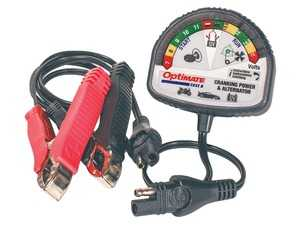 ES#4362330 - UH010-AC5 - OptiMate TEST - Cranking & Alternator 12V tester for battery state of charge cranking performance and vehicle charging system. - For vehicles fitted with 12V AGM, GEL and STD lead-acid or 12.8V LFP / LiFePO4 starter battery. - Unitronic - Audi Volkswagen
