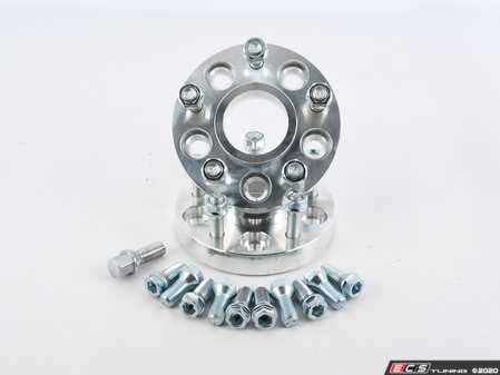 ES#4369784 - 8048418SD -  VW/Audi 5x112-5x114.3 Wheel Adaptor SetThickness: 25mmStud Size: M12x1.5 Extended StudsLug Nut: Cone SeatCentering Ring: 73mm *Scratch And Dent* - audi - 42 Draft Designs -