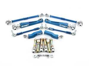 ES#4365314 - E9XPERFSUSFKT - Performance Adjustable Front Suspension Upgrade Kit - Upgrade your worn front suspension linkages - Turner Motorsport - BMW