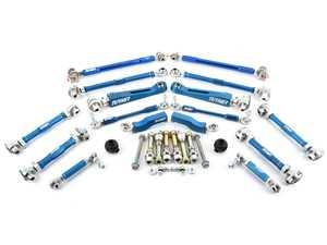ES#4365307 - e9xperfsusfrKT - Complete Performance Adjustable Suspension Upgrade Kit - Replace and upgrade your old suspension linkages - Turner Motorsport - BMW