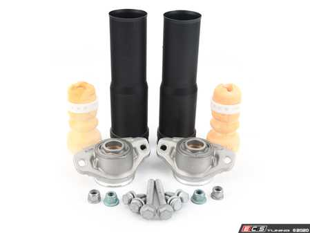 ES#4040311 - 3qf513029abKT - Rear Suspension Upgrade Kit  - Stronger rear suspension for your lifted Alltrack or Tiguan - Assembled By ECS - Volkswagen