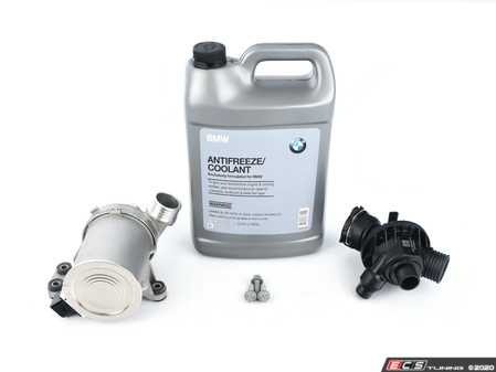 ES#4056697 - 11518635090KT5 - Water Pump And Thermostat Kit - Water pump, thermostat and fluids - Assembled By ECS - BMW
