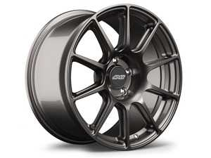 "ES#4370233 - sm10189et42KT - 18"" APEX SM-10 Square Wheel Set - Anthracite - 18x9"" ET42 5x112 57.1CB - APEX Wheels - Audi Volkswagen"