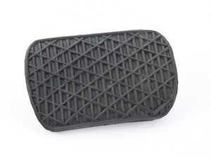 ES#2813662 - 1232910082 - Brake Pedal Pad - Black Rubber - Hamburg Tech - Mercedes Benz