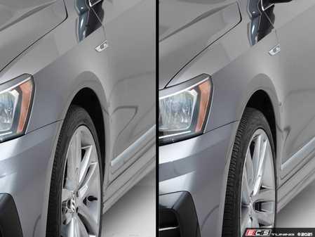 "ES#4370316 - 000021LB01KT - B7 Passat Wheel Spacer Flush Kit - 18"" & 19"" OEM Wheels - Bring your stock wheels to the ""flush"" position - ECS - Volkswagen"