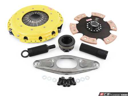 ES#4352989 - BM14-XTR6 - Xtreme Rigid 6-Pad Racing Clutch Kit - Perfect for high performance street and road racing demands. Conservatively rated up to 665 ft/lbs torque capacity. - ACT - BMW