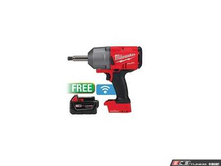 ES#4370488 - MWK-2769-20B5 - Milwaukee M18 FUEL Cordless 1/2in. Extended Anvil Controlled Torque Impact Wrench Kit With One-Key - Includes 18V - Up To 1,100 ft-lbs of Nut Busting Torque in all Modes - Milwaukee - Audi BMW Volkswagen Mercedes Benz MINI Porsche
