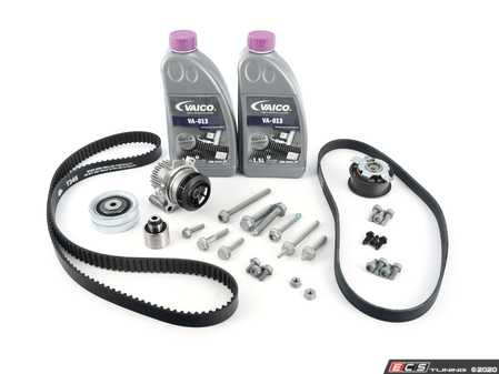 ES#3098419 - 03l109119eKT1 - Timing Belt Service Kit  - Professional kit to service your timing belt and water pump - Assembled By ECS - Volkswagen