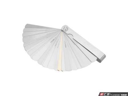 ES#4370856 - W125C - Feeler Gauge Set  - Thickness Gauge (32 Blades) - Performance Tool - Audi BMW Volkswagen Mercedes Benz MINI Porsche