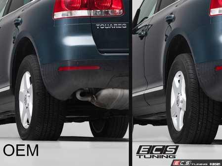 "ES#4370605 - 000117LB01KT - Touareg 1, Touareg 2 Wheel Spacer Flush Kit - 17"" OEM Wheels - Bring your stock wheels to the ""flush"" position - ECS - Volkswagen"