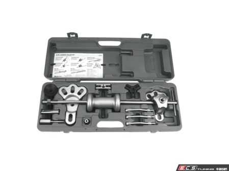 ES#4372119 - W89725 - Slide Hammer Puller Set - 5 lb. hammer, 24 in. long t-handle with 5/8-18 thread - Performance Tool - Audi BMW Volkswagen Mercedes Benz MINI Porsche