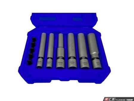 ES#4375445 - CTA7392 - 6 Pc. Spark Plug & Glow Plug Socket Set - For removal and installation of Spark Plugs, Glow Plugs & Pressure Sensor Glow (PSG) Plugs - CTA Tools - Audi BMW Volkswagen Mercedes Benz MINI Porsche