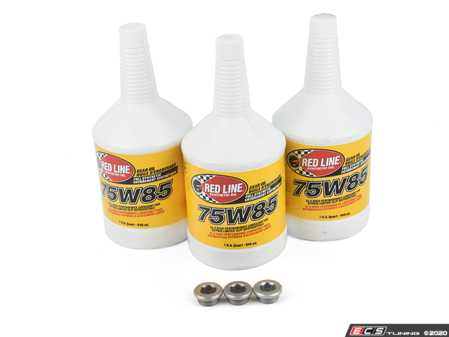 ES#4159664 - F3XAWDFDKT2 - Front and Rear Deferential Service Kit   - With Redline 75w85 gear fluid - Assembled By ECS - BMW